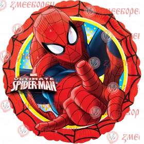 "Готова фотодекорация кръгла ""Spiderman 1"""