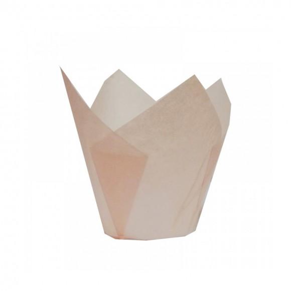 Капсули лале - роза Ø50 h55мм - 10бр