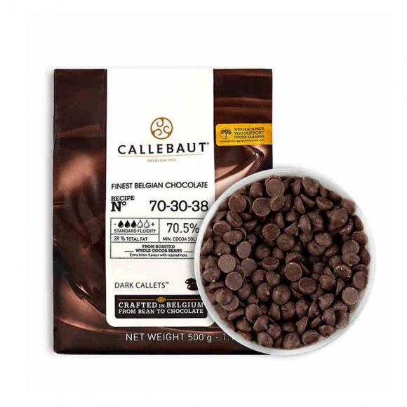 "Черен шоколад ""Бари Калебо"" - 70,5%"