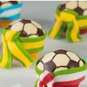 """Форма за шоколадова отливка """"Футболни топки"""""""