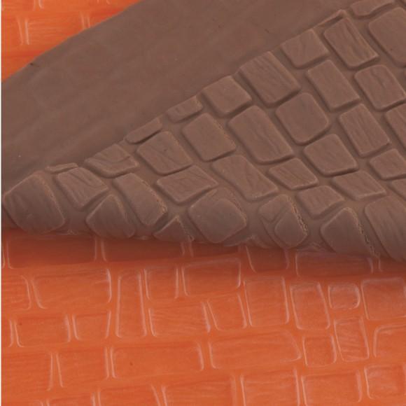 Релефно килимче Тухли