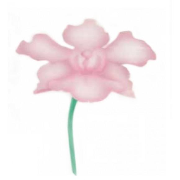 """Шаблон за въздушна четка """"Орхидея"""""""