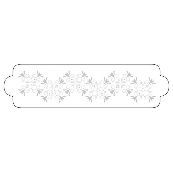 """Шаблон за въздушна четка """"Орнаменти - квадрат"""""""