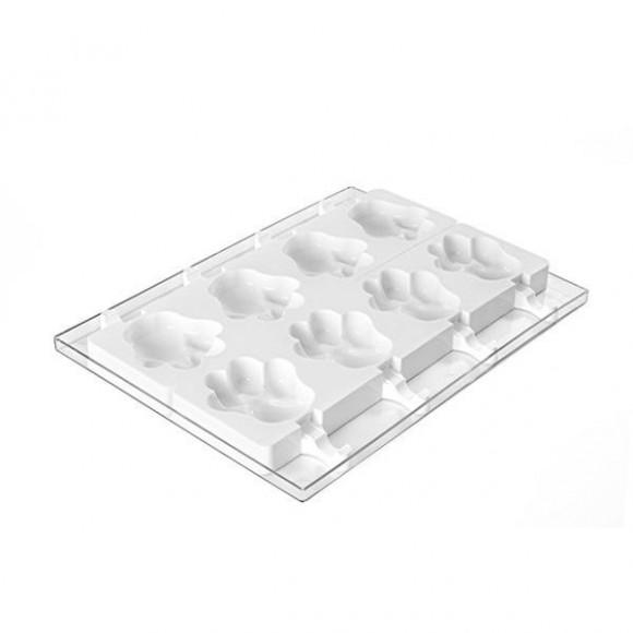 """Силиконова форма за сладолед """"SET GEL06 - Лапа"""""""