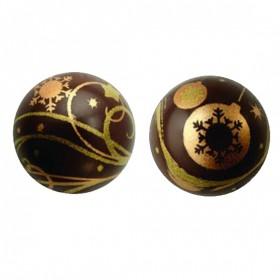 "Напечатана форма за шоколад с трансфер ""Елхови топки"""