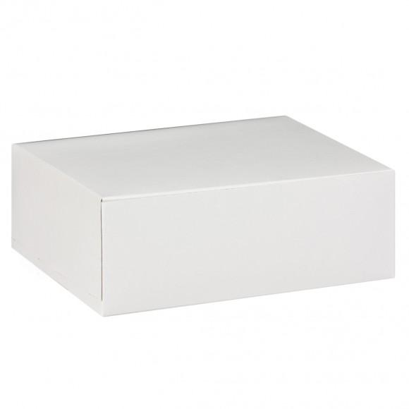 Кутия за мъфини с вложка - 6/15 - бяла