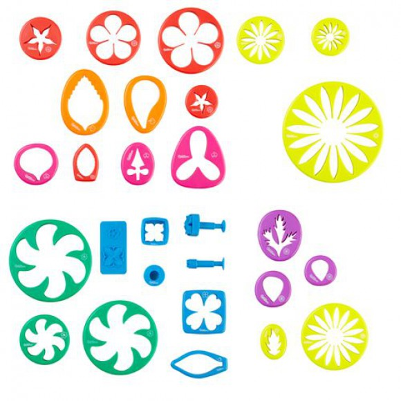 Комплект за цветя 28 елемента с книга