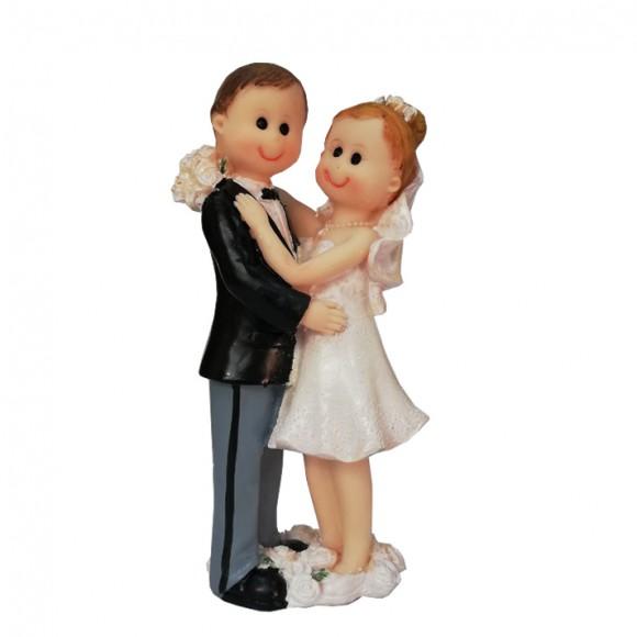 Сватбена фигурка - Брачна двойка 16см