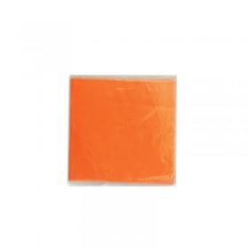 Алуминиево фолио за бонбони - Оранжев №16