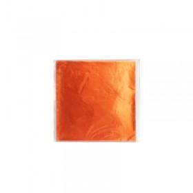 Алуминиево фолио за бонбони - Оранжев №3