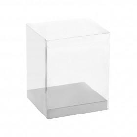 Прозрачна кутия за шоколадова фигура