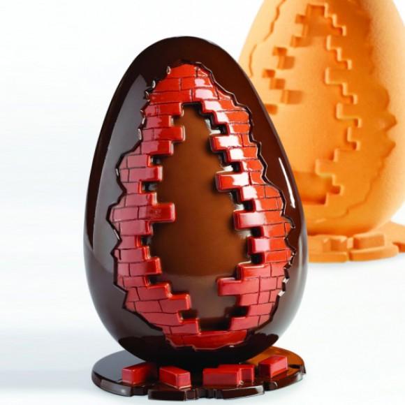 """3D Термоформована форма """"Яйце - Тухлена стена"""""""