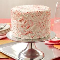 Petal Painting Fondant Cake