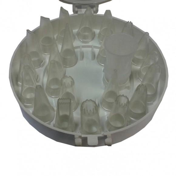 Комплект пластмасови накрайници - 22 бр.